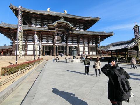 圧巻の東大寺